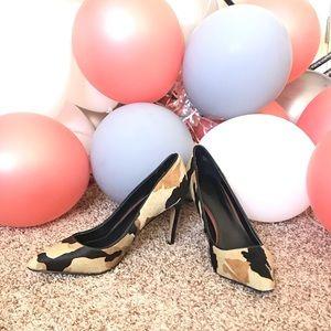 Never Worn Ann Taylor LOFT Animal Print Heels